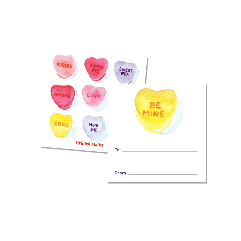 Classroom cards - Candy Heart (Fill in the blank) - Printed Matter
