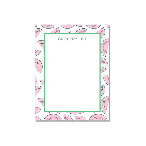 Watermelons border - white - Printed Matter