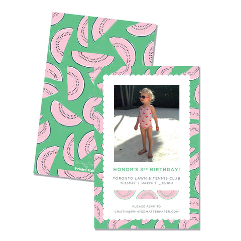 Watermelon - Printed Matter