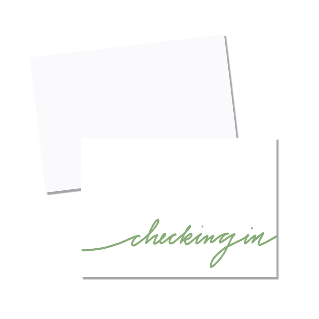 Just because folded note cards (10 per box) - Printed Matter