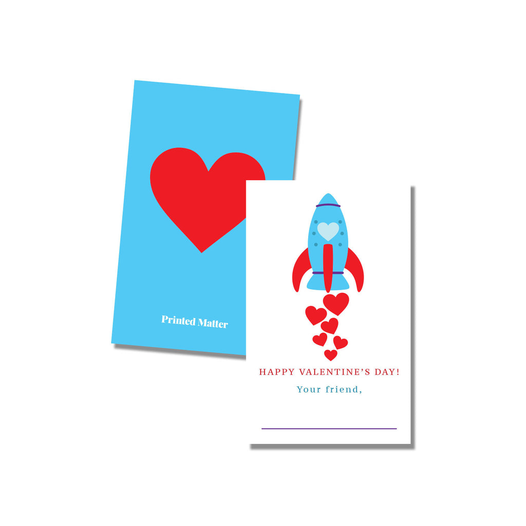 Classroom cards - Rocket (Fill in the blank) - Printed Matter
