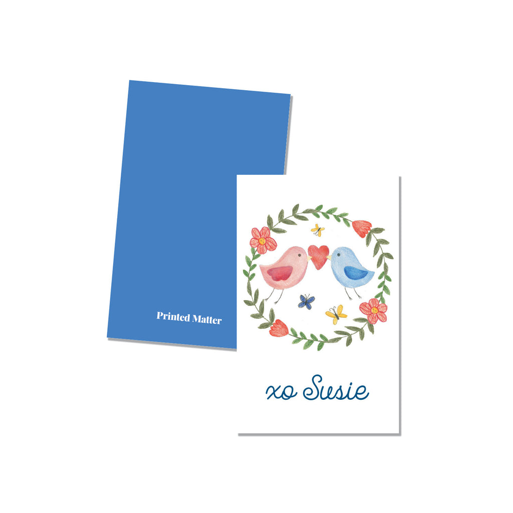 Classroom cards - Birds (Personalized) - Printed Matter