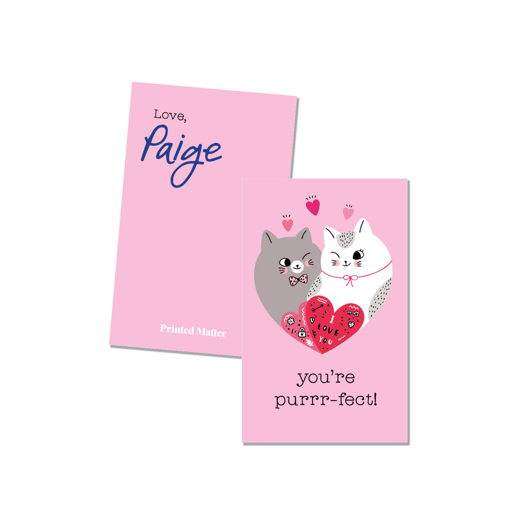 You're Purrrfect (Personalized) - Printed Matter