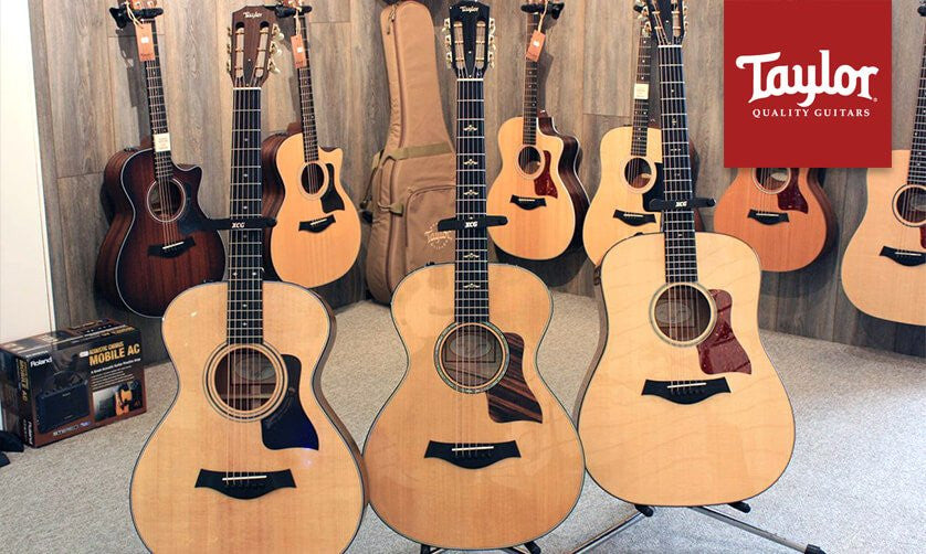 Taylor Guitars - Kendall Guitars - Authorized Taylor Dealers