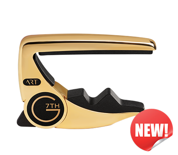 g7th gold performance 3 capo for electric and acoustic guitars