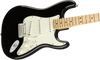 Fender Player Stratocaster Electric Guitar in Black with Maple Neck