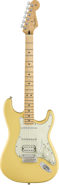 Fender Player Stratocaster HSS Guitar in Buttercream finish