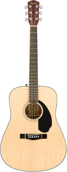 Fender CD60-S Dreadnought Acoustic Guitar in Natural