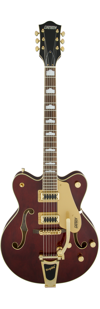 Gretsch Electromatic Guitar G5422TG - Walnut Stain with Gold Hardware
