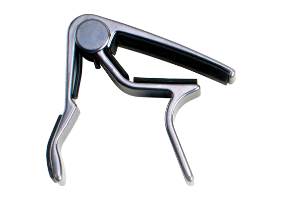 Dunlop 83CN Acoustic Guitar Capo - Dunlop Trigger Capo In Nickel Finish