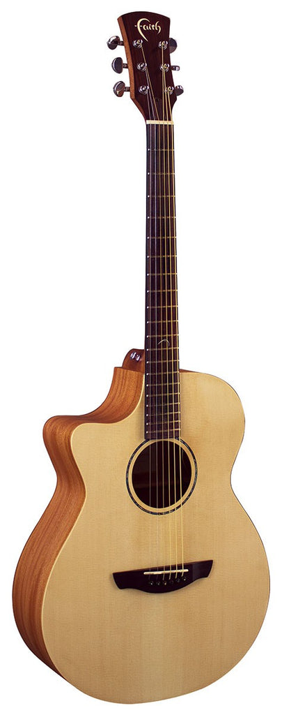 Faith FKVL Left Handed Electro Acoustic Guitar with Cutaway