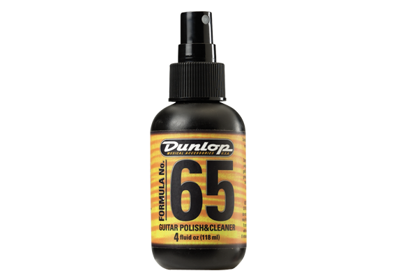 Dunlop 65 Guitar Polish and Cleaner 4 fluid oz