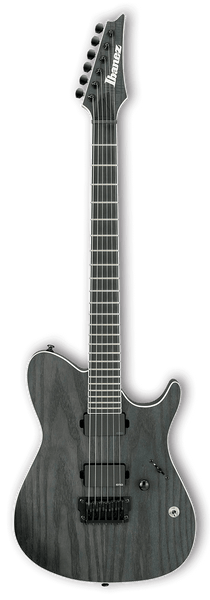 Ibanez FRIX6FEAH Iron Label Guitar Charcoal Stained Flat