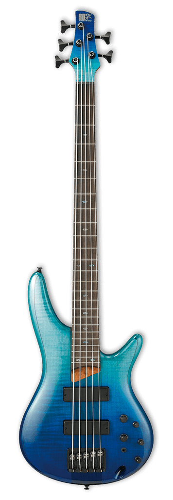Ibanez SR875 BRG Blue Reef Graduation