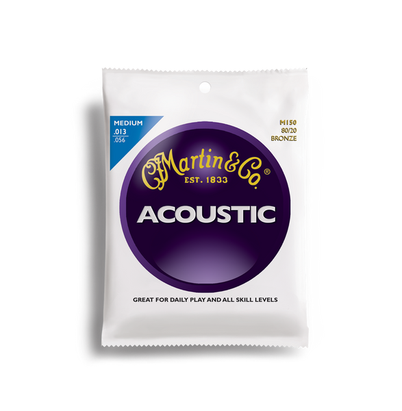 Martin M150 Medium Acoustic Guitar Strings
