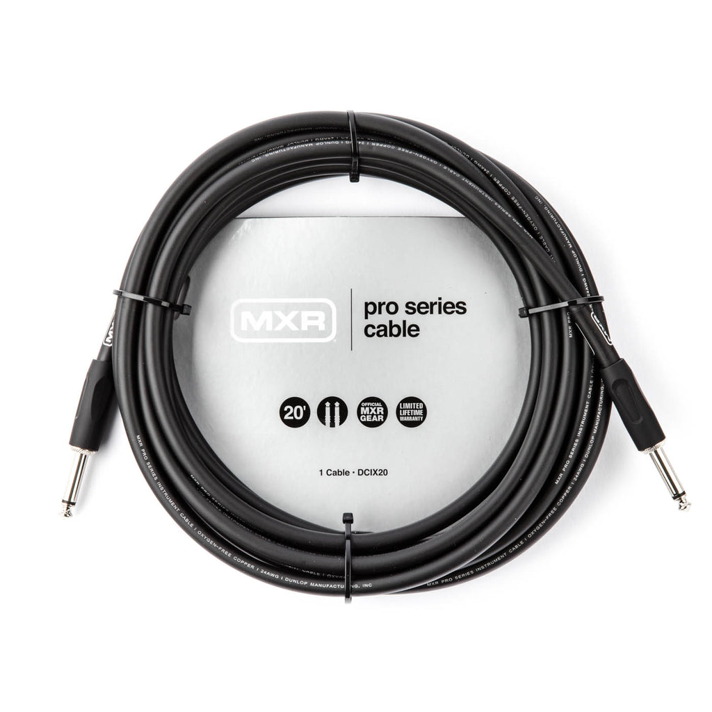 MXR Pro Series Guitar Cable 20' - DCIX20