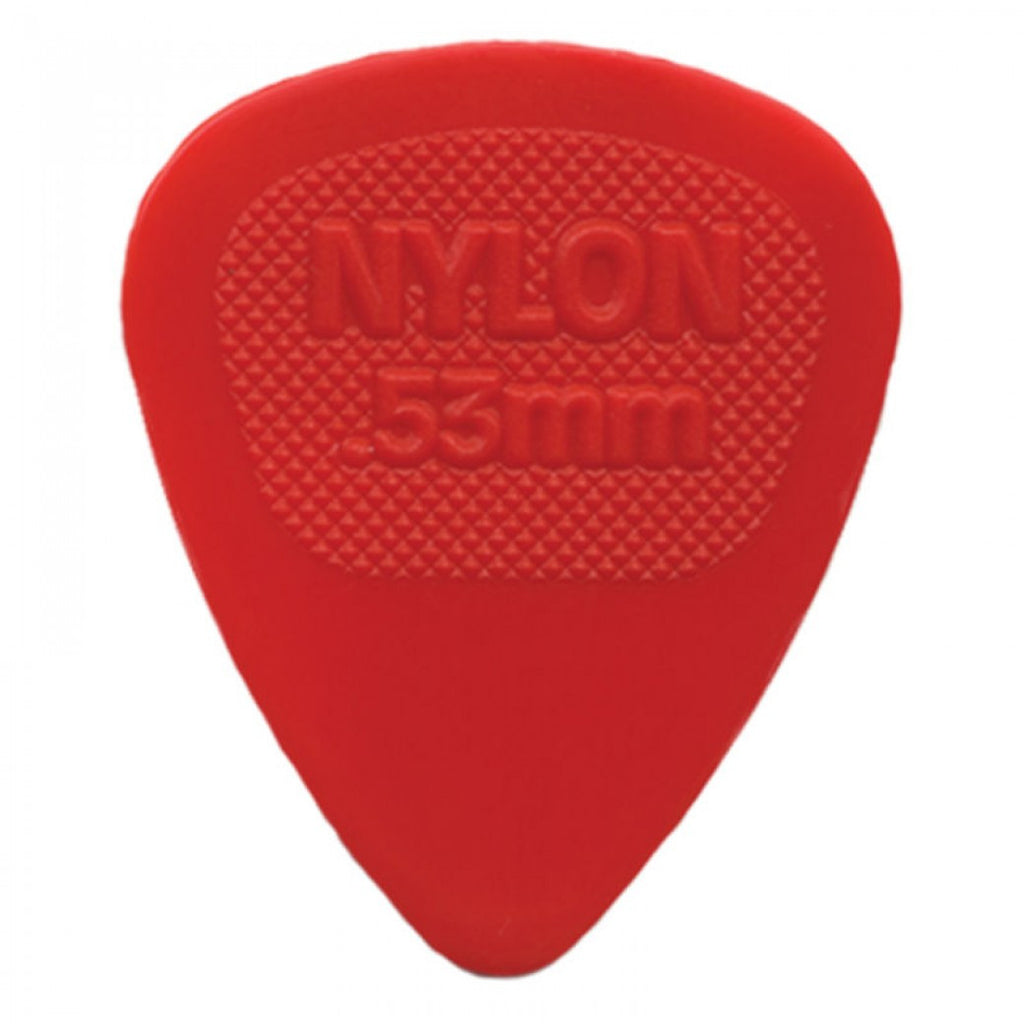 JimDunlop .53 Midi Guitar Plectrum - Red Dunlop Guitar Pick