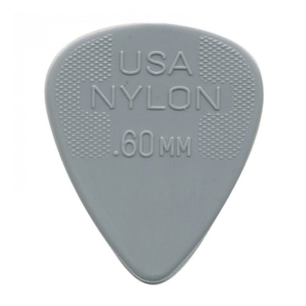 Dunlop Nylon .60 Plectrum - Dunlop Grey Guitar Picks