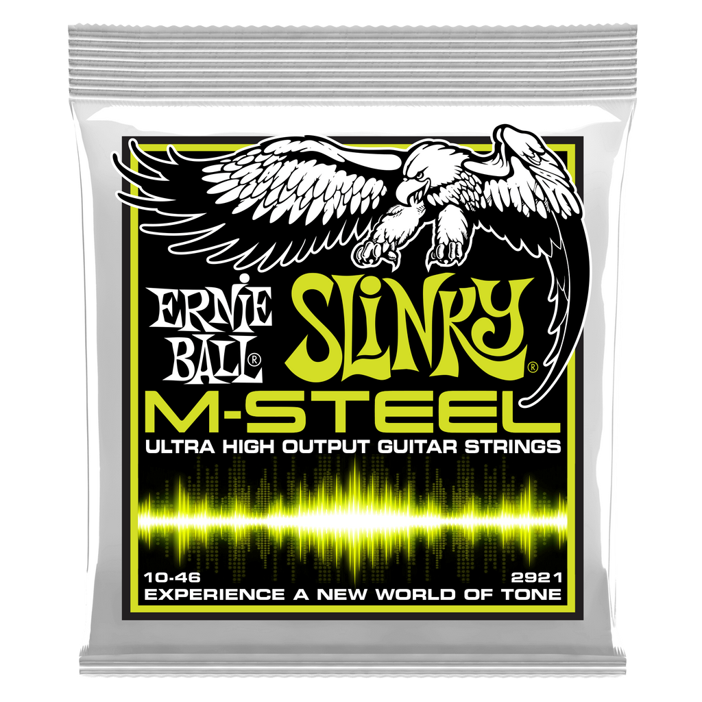 Ernie Ball M-Steel Electric Guitar Strings - 10-46