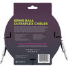 Ernie Ball Ultraflex 10ft Black Guitar Cable P06048