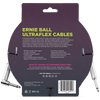 Ernie Ball Ultraflex 10ft Guitar Cable in Straight to Angle Jack - P06049