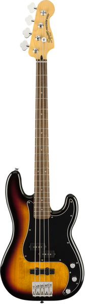 Squier Vintage Modified Precision PJ Bass Guitar in Sunburst