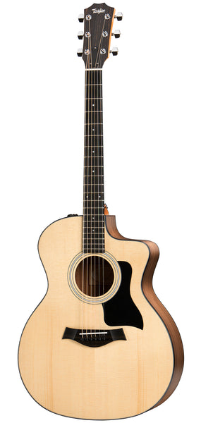 Taylor 114ce Grand Auditorium Electro Acoustic Guitar - Solid Sitka Spruce Top with Walnut Back & Sides