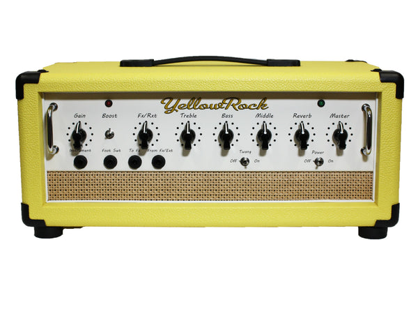 Yellow Rock SL30 Head with Yellow Tolex