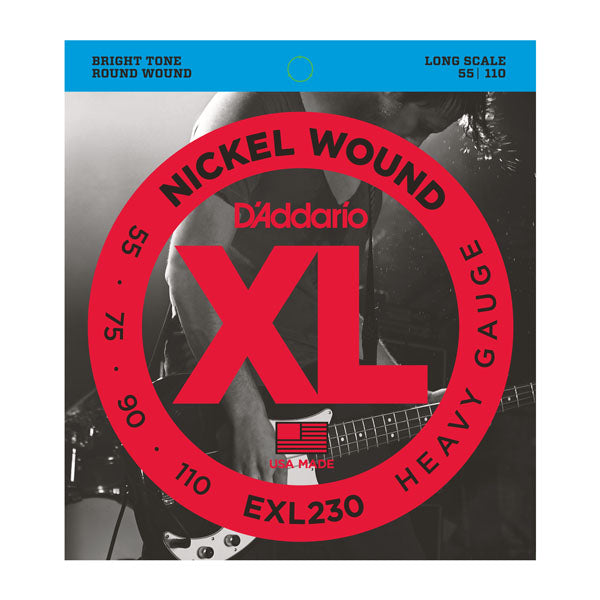 Daddario EXL230 Nickel Wound Bass Guitar Strings