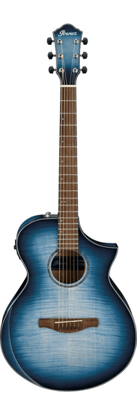 Ibanez AEWC400 Electro Acoustic Guitar in Indigo Blue Burst