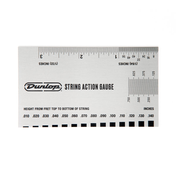 Dunlop DGT04 Guitar String Height Gauge For Setting up Guitars