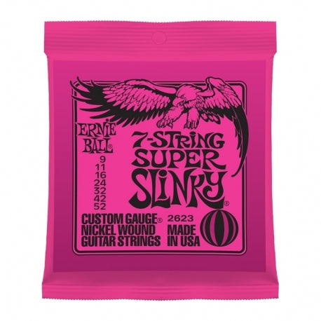 Ernie Ball 2623 7 String Set of Electric Guitar Strings