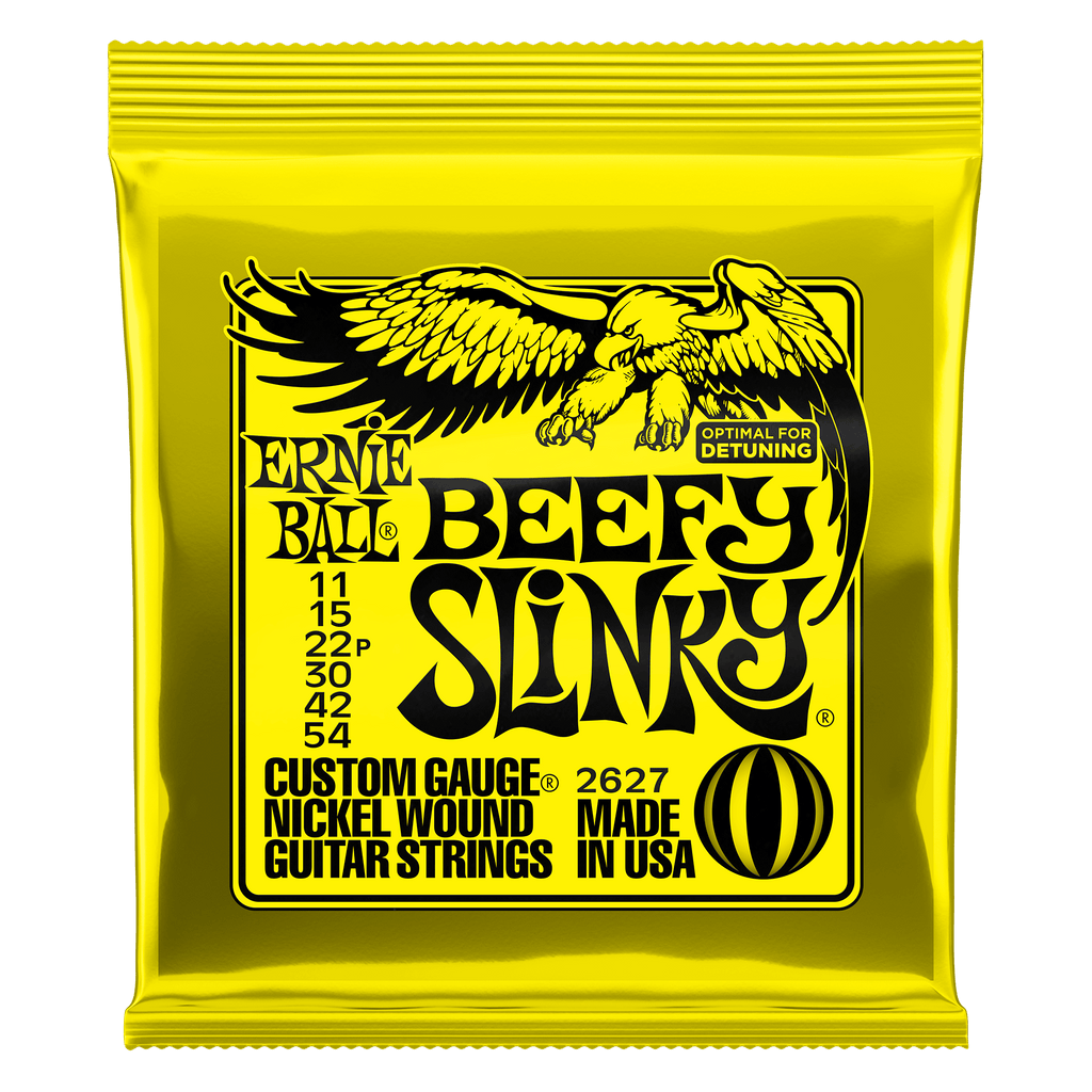 Ernie Ball Beefy Slinky Electric Guitar Strings - 2627