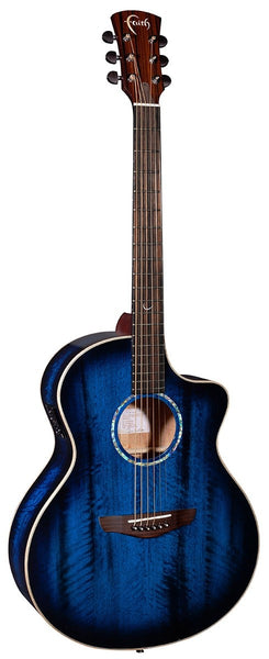 Faith Blue Moon Electro Acoustic Guitar