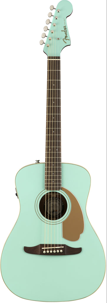 Fender Malibu Player Electro Acoustic Guitar Aqua Splash