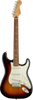 fender player stratocaster in sunburst with pau ferro fingerboard