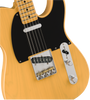 fender vintera 50s telecaster modified in butterscotch blonde electric guita