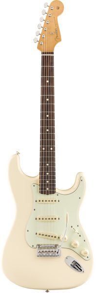 fender vintera 60s stratocaster modified in olympic white guitar