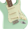 fender vintera 60s stratocaster in surf green guitar