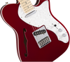 Fender Deluxe Telecaster Thinline Electric Guitar in Candy Apple Red
