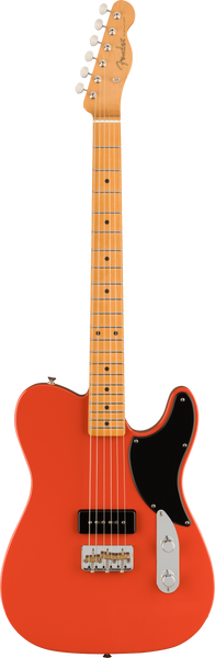 Fender Noventa Telecaster Electric Guitar in Fiesta Red