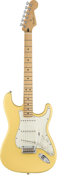 Fender Player Stratocaster Electric Guitar in Buttercream Finish