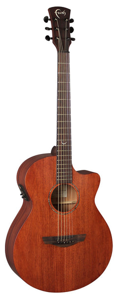 Faith FKVMG Naked Venus Mahogany - Faith Electro Acoustic Guitar