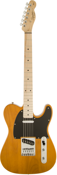 Squier Affinity Telecaster Guitar in Butterscotch Blonde