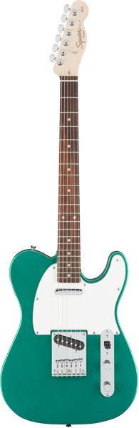 Squier Afffinty Telecaster Electric Guitar in Race Green