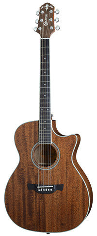 Crafter TE6 MH - Mahogany Electro Acoustic Guitar