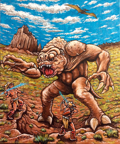 Hero Twins vs. Rancor Monster