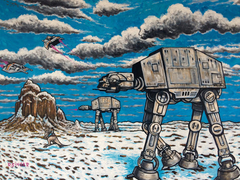 AT-AT Walkers (Near Shiprock New Mexico) - A Ryan Singer Original