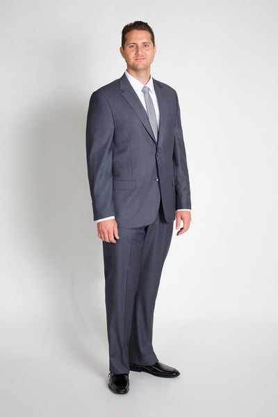 Charcoal Grey Classic Fit Suit