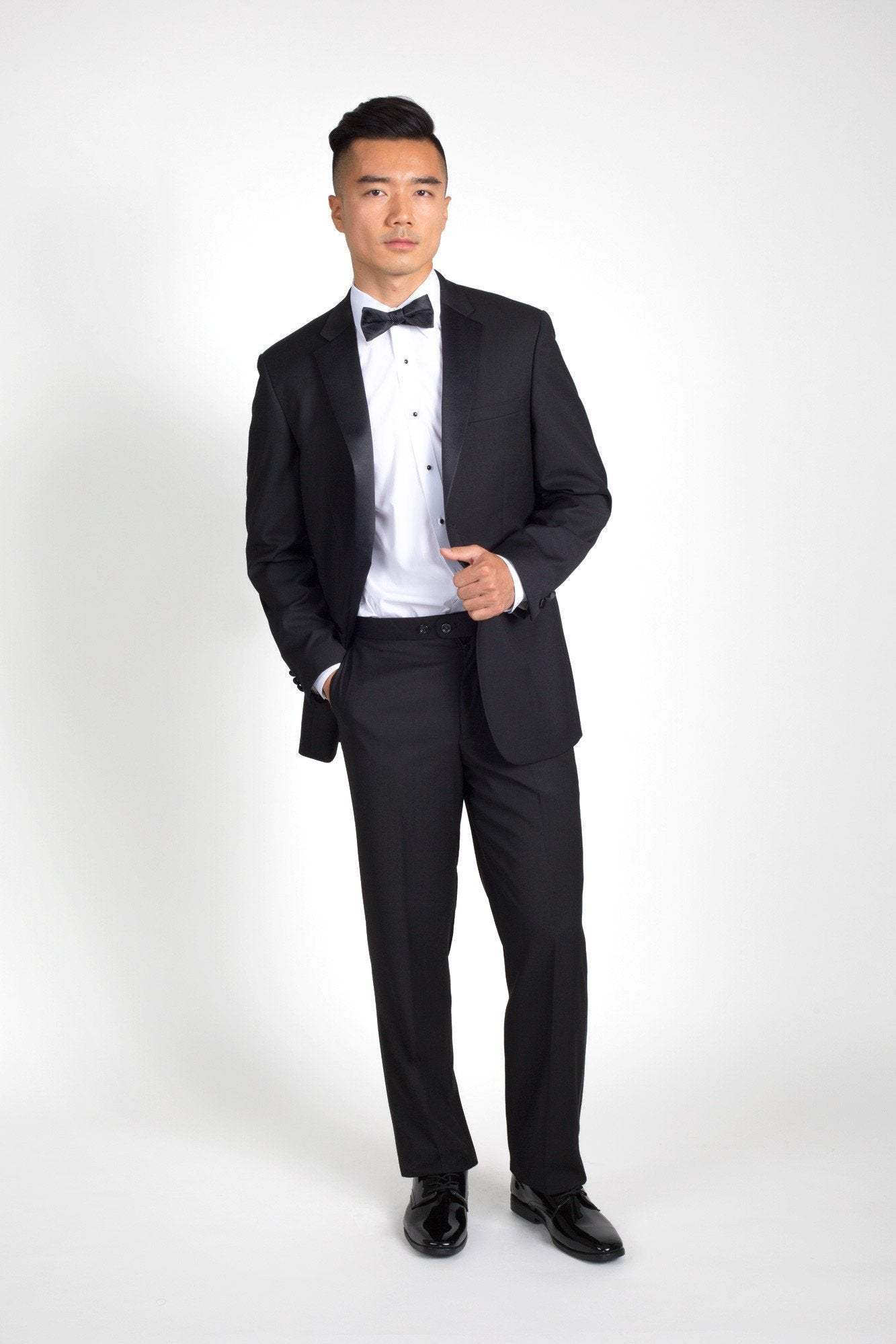 Black Notch Classic Fit Tuxedo